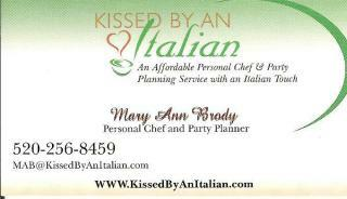 Kissed by ab Italian - Mary Ann Brody