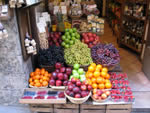 Fruit stand Italy
